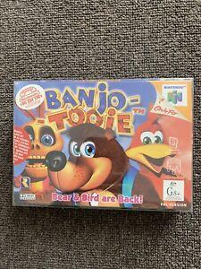 NINTENDO-64-GAME-BANJO-TOOIE-COMPLETE-BOXED-RARE-COLLECTORS-AUS-PAL