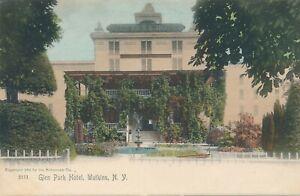 WATKINS-NY-Glen-Park-Hotel-Rotograph-Postcard-udb-pre-1908