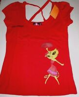 Leticia Leopard baila Conmigo Cross Back T-shirt Jrs Sizes S, M, L W Tag