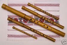 Set of 5 Sopilkas Bass in C-Tenor In F-Alto in G-Prima in C-Piccolo in F Sopilka