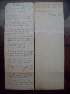 1905-141-MANOSCRITTO-AUTOGRAFO-POETA-DI-CATANZARO-DOMENICO-MILELLI-039-IL-CICLONE-039