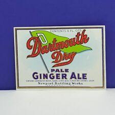 Vintage Hasper-E Orange Soda Label Newport Muskegon