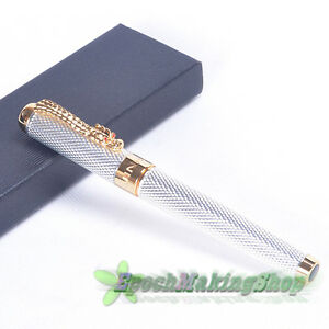 free-shipping-JINHAO-1200-NOBLEST-sliver-DRAGON-ROLLER-BALL-PEN-new