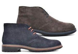 charcoal de deporte ante cuero Zapatos 8682 azules de Igi de Zapatillas cordones con de terciopelo Co de aRIqcnWxB