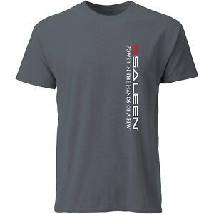 Saleen-034-Power-in-the-Hands-of-A-Few-034-T-Shirt-XL-Grey