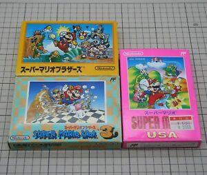 Super-Mario-Bros-1-3-USA-Set-NES-Famicom-Nintendo-FC-japan