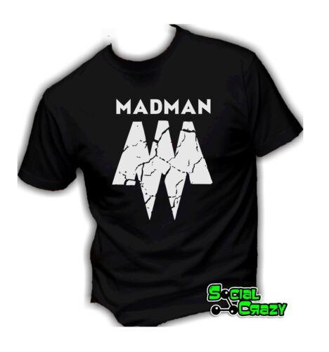 MADMAN rap rapper musica T shirt uomo manica corta