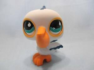 Littlest-Pet-Shop-Bird-Pelican-517-Authentic-Lps