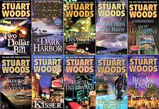 Stuart Woods STONE BARRINGTON Series Collection Set of  Paperback Books 11-20!