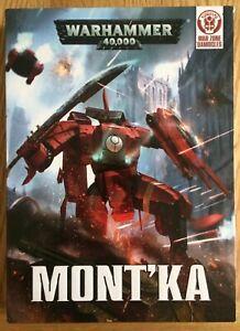100% Vrai Nouveau-warhammer 40000 Mont 'ka Game (2015) Zone De Guerre Damocles-afficher Le Titre D'origine Conduire Un Commerce Rugissant