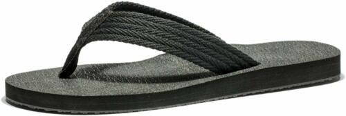 Mens Flip Flops Large Size Wide Platform Thong Athletic Sport Sandals L