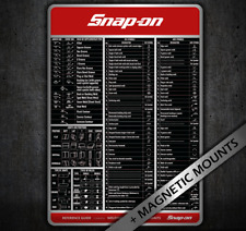 Snap On Welder Welding Symbols Chart Knowledge Poster Quick Reference