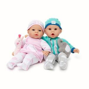 Madame-Alexander-Middleton-Newborn-16-039-039-Twins-Baby-Doll-Multicolor-New