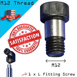 Details about 1 L Fitting Screw for Lambo Vertical Bolt On Door Kit Shock -  M12 Thread