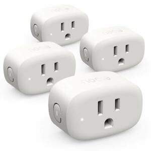 Smart-Plug-Wifi-Outlet-Mini-Smart-Socket-Compatible-with-Alexa-4-pack