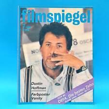 DDR Filmspiegel 7/1989 Tony Curtis Dustin Hoffman Anthony Delon Kevin Kline S