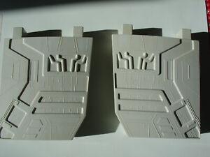 Vintage-Kenner-1977-Star-Wars-Death-Star-Space-Station-Playset-Support-Walls-W-W