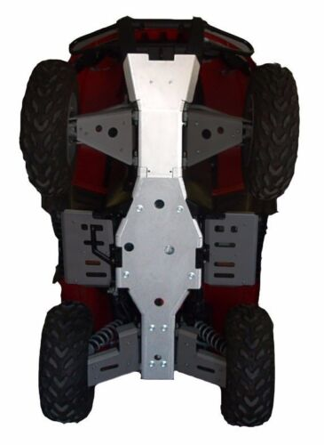 Ricochet Off-Road 2 PC Full Frame Skid Plate Set 2004-15 Arctic Cat 4X4 TRV/&TBX