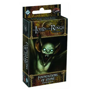 The Lord of the Rings Living Card Game Foundations of Stone Adventure Pack