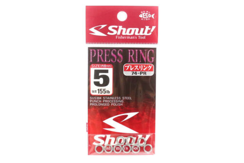 Shout 74-PR Press Ring Standard Solid Ring Size 5 mm 5378