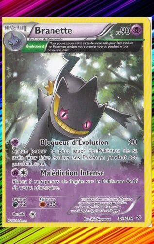 Branette 32//108 XY6:Ciel Rugissant Carte Pokemon Neuve Française