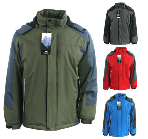 Kadite Performance Hooded Fleece Lined Quilted Jacket