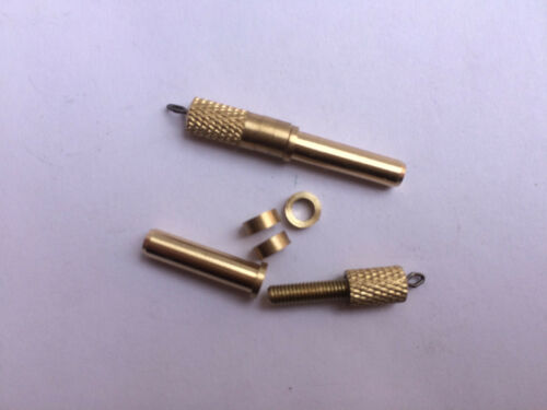 Brass Adjustable Weights Loading for Wagglers with 3 different Thick Washer each
