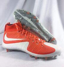 New Nike Vapor Untouchable Sz 12.5 White 698833-811 Football VPR 47 Orange Cleat