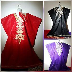African Traditional Long Dress Batik Dashiki Women Kaftan Maxi Free Size D Color