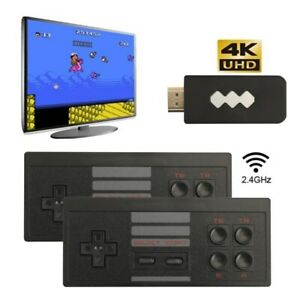 HDMI/AV 821 Built-in 1 Jeux vidéo Consoles Classic Games Wireless Controller A
