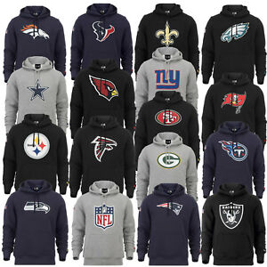 NEW ERA CAP NFL HOODY NEW ENGLAND PATRIOTS PACKERS FALCONS SWEATSHIRT KAPUZE