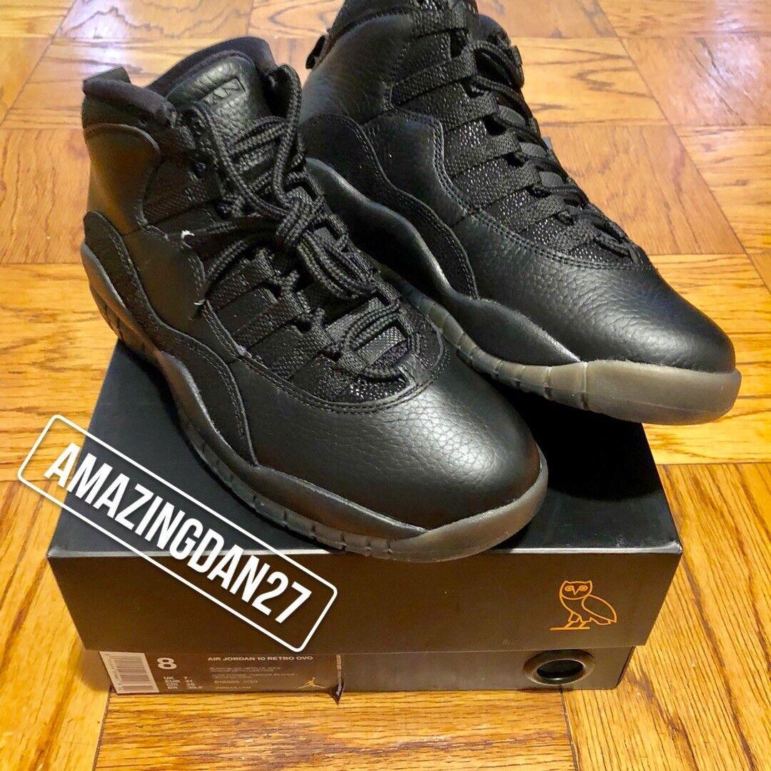 "Nike Air Jordan 10  ""OVO"""