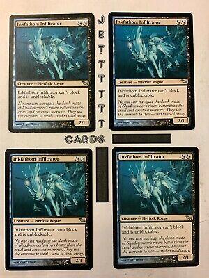 x4 MTG 4x Inkfathom Witch