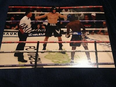KSI Vs Logan Paul Fight   Very Rare Autographed by the Official Referee