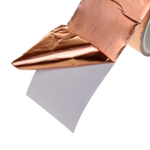 4m Pro Einzige Leitende Selbstklebende Emi Kupferfolie Abschirmband 5cm