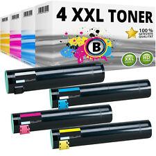 4 XXL Toner für LEXMARK C930H2KG C930H2CG C930H2MG C930YG C935DN C935DTN C935HDN
