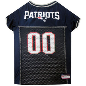Details about New England Patriots - Officially Licensed Dog NFL Jersey *free shipping*