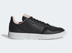 EF9189 New Adidas Originals Supercourt Men Casual Shoes Black//White