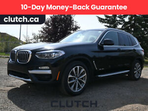 2018 BMW X3 XDrive30i w/ Navigation, Sunroof and Premium Package