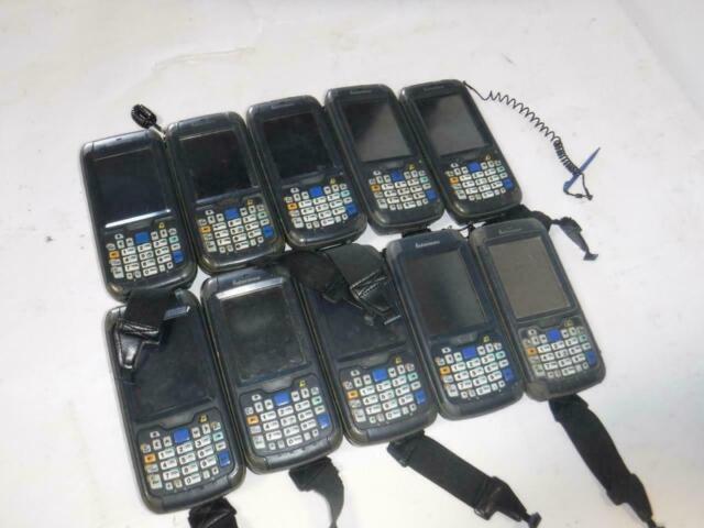 *AS-IS* Lot Of 10 Intermec CN70 Handheld Mobile Barcode Scanners 1000CP01U