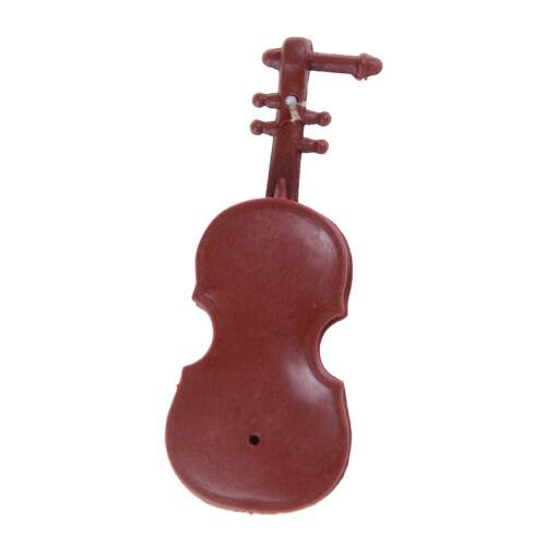 Violín 1:12 Casa de Muñecas en Miniatura Regalo Decoración Hazlo tú mismo Instrumentos Musicales Colección Reino Unido
