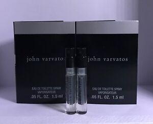 2 X John Varvatos Perfume Sample Vial 05 Oz 15 Ml Each Ebay