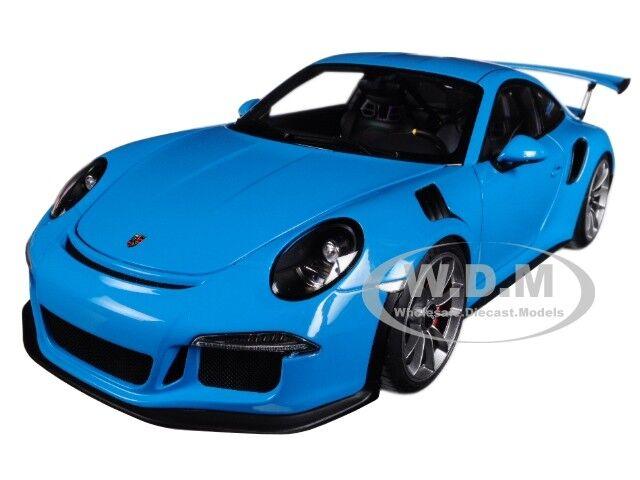 Compra calidad 100% autentica Porsche Porsche Porsche 911 (991) GT3 RS Miami Azul 1 18 modelo de coche de Autoart 78167  venta al por mayor barato