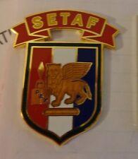 ARMY AIRBORNE SETAF EUROPE TASK FORCE  COMBAT SERVICE IDENTIFICATION ID BADGE
