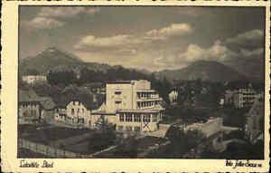 Letovi-e-Bled-Slowenien-alte-Ansichtskarte-1920-30-Blick-auf-das-Hotel-Jekler