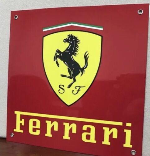 Ferrari Racing Reproduction Motor Oil Gas Garage Sign