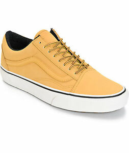Image is loading VANS-OLD-SKOOL-MTE-HONEY-LEATHER-UNISEX-Shoes-