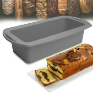 Cake-mold-silicone-Nonstick-Pan-soap-french-bread-toast-Bread-Large-loaf-pan