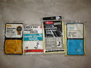 Upright Disposable Vacuum Cleaner Bags Eureka Montgomery