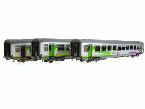 LS Models 41205 V-VI Set 3 voitures Corail Intercités ép SNCF HO 1//87